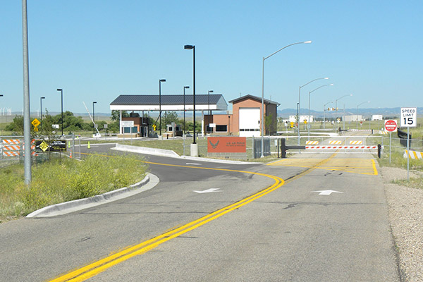 Warren AFB Gate 5